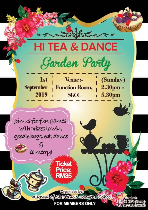 Hi Tea & Dance Garden Party
